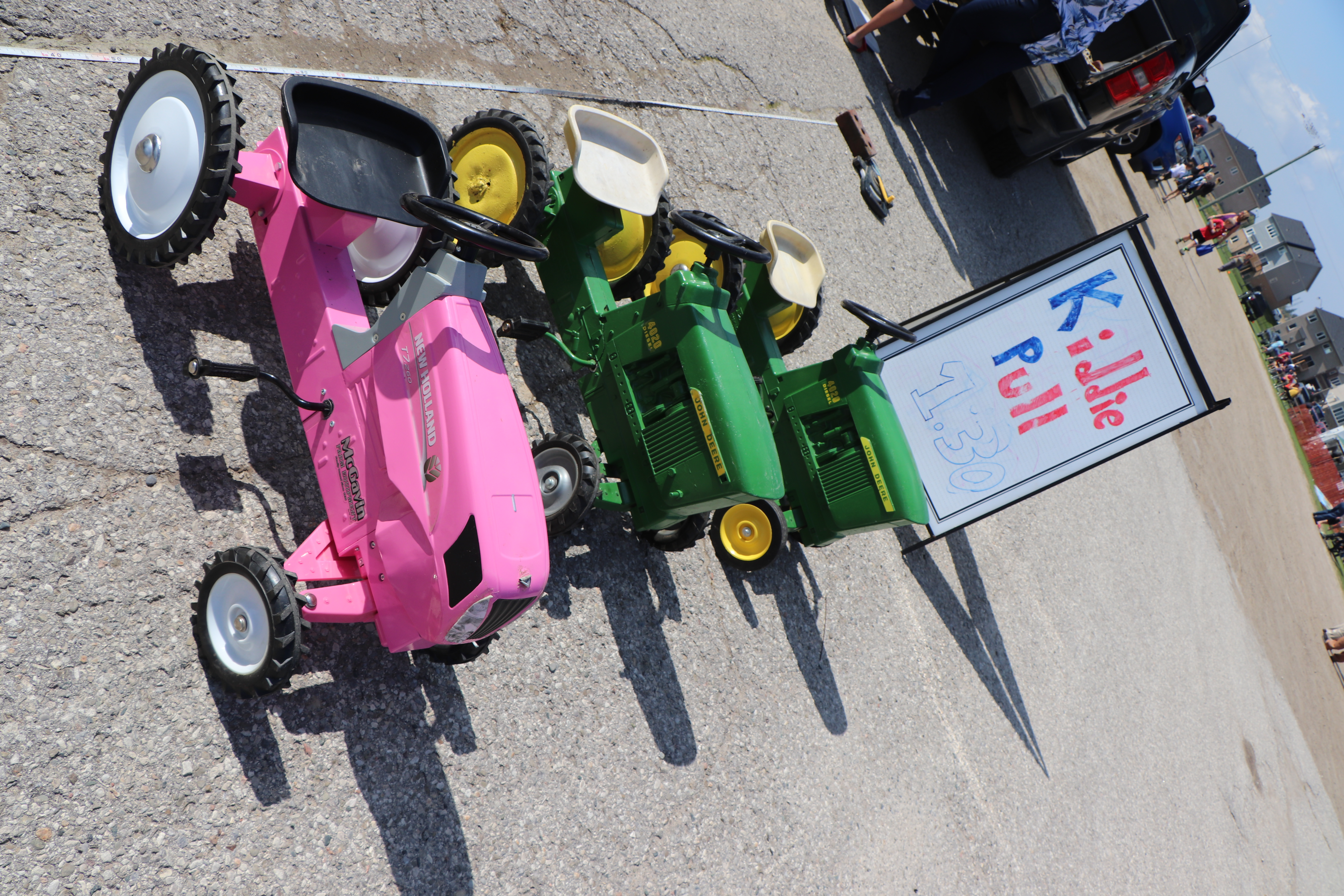Kids Tractor Pull